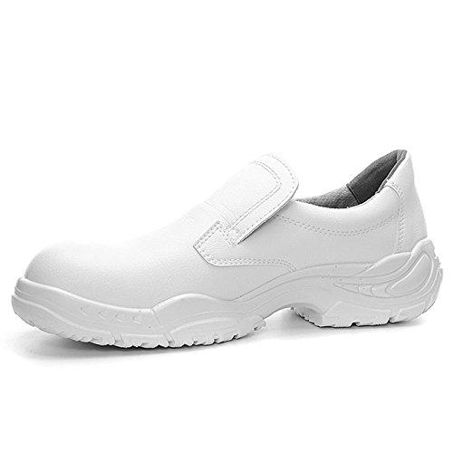 Elten 72498-48 White Slipper Low Chaussures de sécurité ESD S2 Taille 48