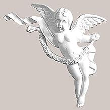 A–01P Ornament PU antigolpes Exclusive inodoro estuco pared ángel 13,2x 17x 3cm