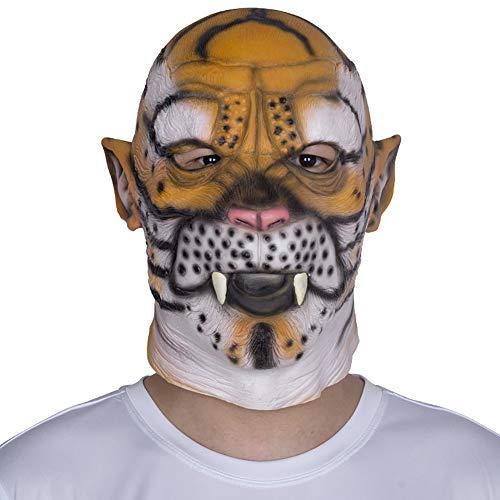 Wan mask Tierhauben-Latexmaske Geeignet für Maskerade-Partys, Kostümpartys, Karneval, Weihnachten, Ostern, Halloween (Halloween-spiele, Die Gruselige Parteien)