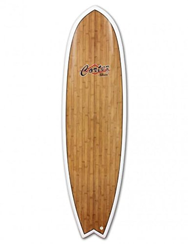 "The Surf Town Surfboard Mini Longboard Cortez Fish 6\'9\"""