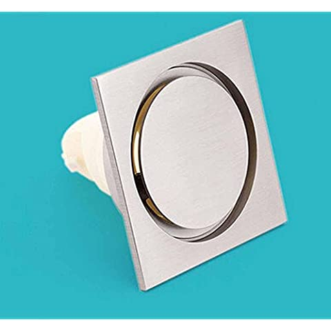 NHD-Simple European-style bathroom floor drains, floor drain Panel fine copper wire drawing, and odor-resistant core anti-water