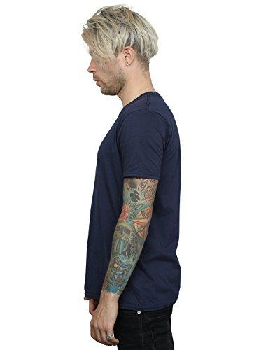 Disney Herren Coco Skull Pattern T-Shirt Marine
