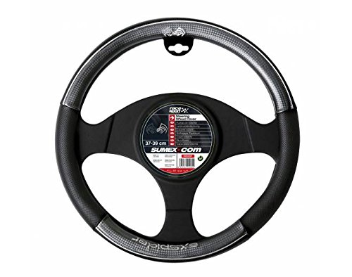 """Sumex 2505Xsp - Funda Volante Piel - Carbono """"Xspider"""", 37 - 39 cm"""
