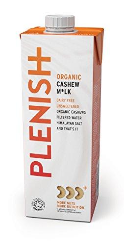 Plenish Latte di Anacardi Organico senza Zucchero Non Caseario 1L (Confezione da 8)