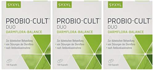 SYXYL ProBio-Cult Duo / Nahrungsergänzungsmittel mit Riboflavin, Milchsäurebakterien & Mikronährstoffen zur Unterstützung von Darmflora & -schleimhaut / 100 Kapseln im Blister