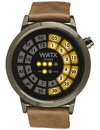 d85720a7f406 Watx Spyder Reloj para Hombre Analógico de Cuarzo con Brazalete de Piel de  Vaca RWA0901