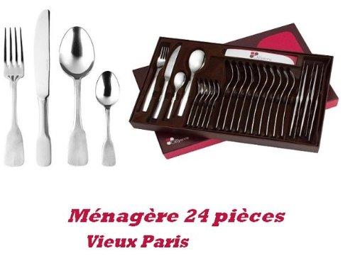 Ménagère 24 pièces Vieux Paris