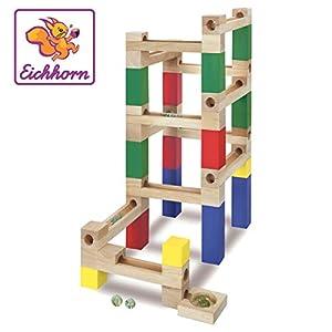 Eichhorn 100002021 Juguete de construcción Juego de construcción - Juguetes de construcción (Juego de construcción,, 3 año(s), 47 Pieza(s), Niño/niña, Madera)
