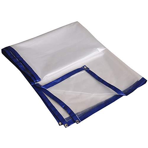 KXBYMX La bâche imperméable transparente résistante de bâche a capitonné la bâche imperméable de pluie Bâche imperméable de haute qualité (Couleur : A, taille : 3×5m)