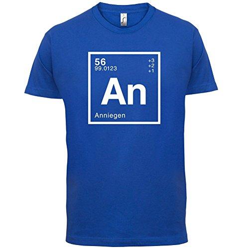 Annie Periodensystem - Herren T-Shirt - 13 Farben Royalblau