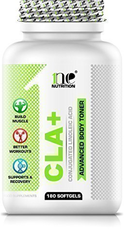 1ne-Nutrition-CLA-180-x-1000mg-Softgels-Fat-Loss-Lean-Muscle-Gain-Weight-Loss-Supports-Muscle-Tone