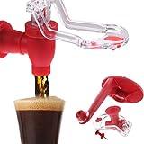 Faviye Bottiglia di Coca Cola distributore di Acqua Portatile rovesciato distributore di Soda Cola per la casa
