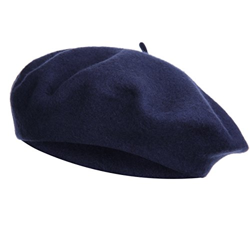 VGLOOK - Gorro - para Mujer Azul Azul Marino Talla única