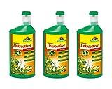 3 x Neudorff Finalsan Konzentrat Unkraut Frei Plus 1 L - biologisch abbaubar & nicht bienengefährlich