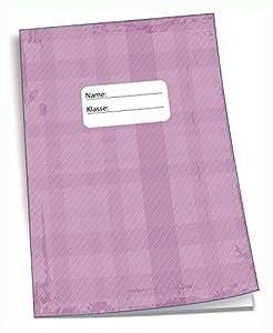 Edition Trötsch 201538 - Cuaderno de Deberes (DIN A5, 96 páginas, con sobre Transparente), Color Rosa
