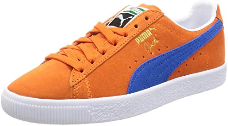 Puma Clyde NYC (orange / blau)