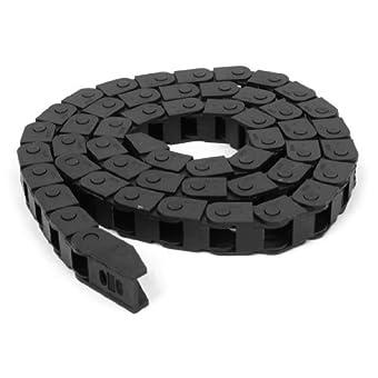 Noir de Type ouvert câble chaîne de transport Towline frein 10 x 10 mm