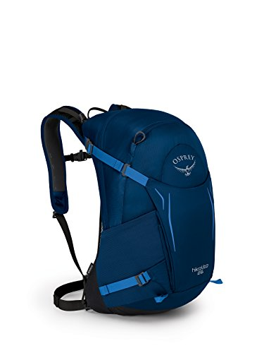 Osprey Hikelite 26 Paquete de Senderismo, Unisex Adulto, Azul (Bacca), Talla Única