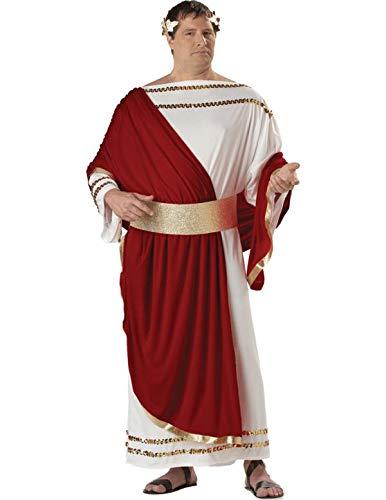 California Costumes 01637 - Römischer Caesar Kostüm Ubergröße Herren Gr: 3XL