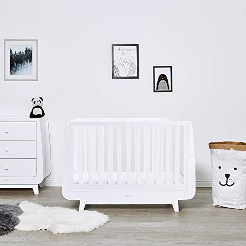 SnuzKot Luxe Cot Bed - White  Green Sheep Group LTD(9YKKU) -- Dropship