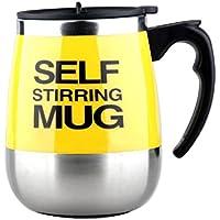 Tazza di caffè 450ml Acciaio pigro normale che mescola elettrico tazza auto di miscelazione tazza (2 Porta 2 Letto Cassetto)