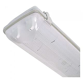 Advanced AquaLine 2 x 5ft 58W T8 Non-Corrosion 3hr Emergency Fluorescent Fitting - IP65 [AP2855] (EcoEpitome® Packaging)