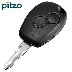 Pitzo Pit 107A 2 Button Remote Car Key Shell