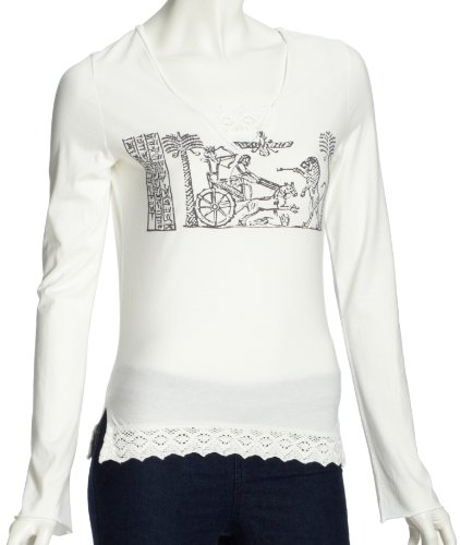 Lana naturalwear Sweatshirt  Femme Blanc - Weiß (301 weiss )