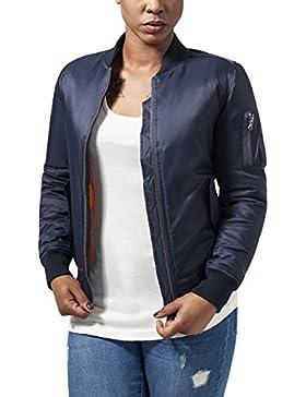 Urban Classics Ladies Basic Bomber Jacket, Chaqueta para Mujer