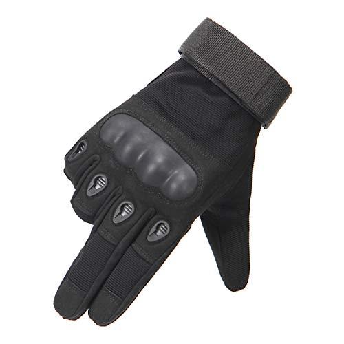 Impermeabile antiscivolo guanti moto traspirante guanti moto ciclismo Finger rubber soft shell in pelle moto muffo