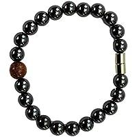 Hämatit Kugel Armband mit Magnetverschluss und einer Edelstein Kugel - Goldfluss preisvergleich bei billige-tabletten.eu