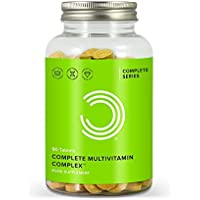 BULK POWDERS Complete Multivitamin Complex, Pack of 90 Tablets