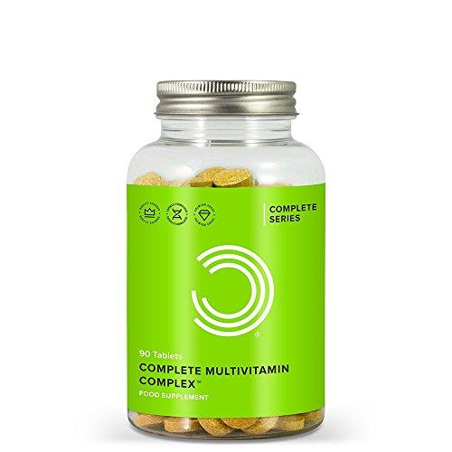 Bulk Powders Complete Multivitamin Komplex Tabletten - Vitamine hochdosiert, 90 Tabletten