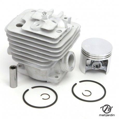 Cylindre piston pour tronçonneuse Stihl MS341. Ø 47 mm - Pièce neuve