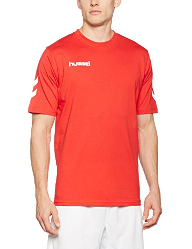 Hummel Herren T-Shirt Core Tee, True Red, XXXL, 09-541-3062