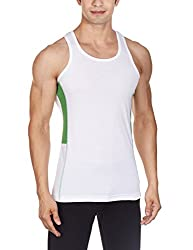 Chromozome Mens Cotton Vest (TE-03_TE03_white_XL)