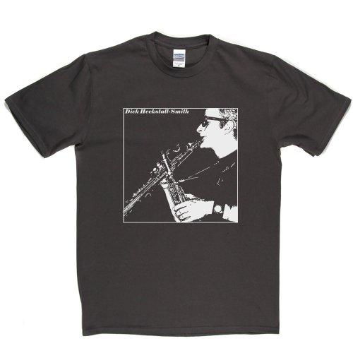 Dick Heckstall-Smith English Jazz & Blues Saxophonist T-shirt Grau