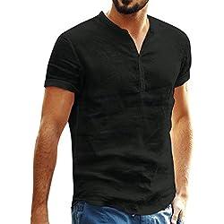 et en été Style Plage 3D Nouveaux Poignets décontractés Slim en Coton et Lin Lettres de la personnalité Revers Revers POLOT Chemise Mode Vestimentaire Fashion Outing Homme
