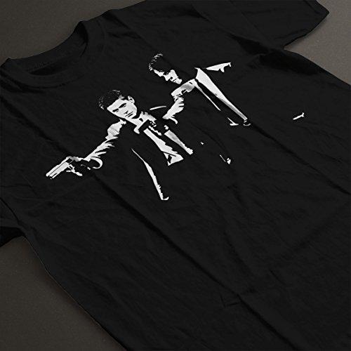 Pulp Fiction Supernatural Sam And Dean Winchester Men's T-Shirt Black