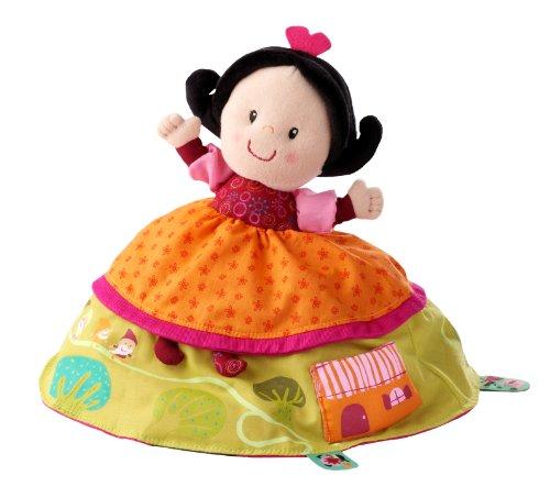 Lilliputiens 86259 - Marioneta reversible de Blancanieves