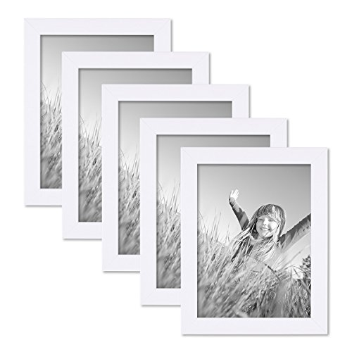 5er-bilderrahmen-set-15x20-cm-photolini-basic-collection-modern-weiss-aus-mdf-inklusive-zubehor-bild