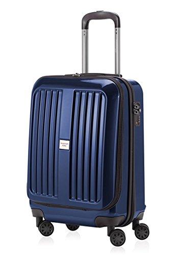 Hauptstadtkoffer, Bagage cabine Unisexe Adulte Bleu dunkelblau hochglanz 55 cm
