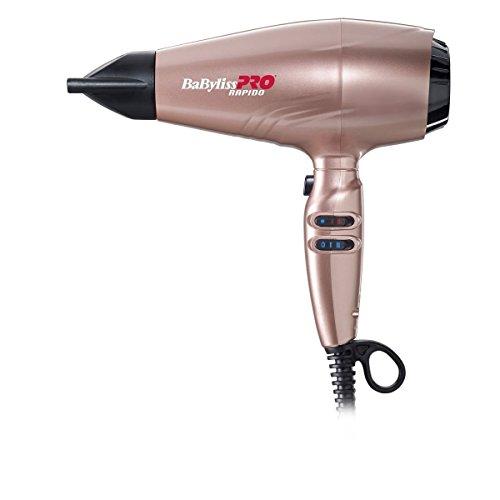 Babyliss Pro - Secador rapido, 2200 W, color oro rosa