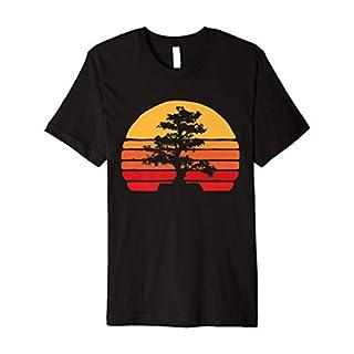 Bonsai Tree Nature T-shirt for Men or Women - Retro Vintage