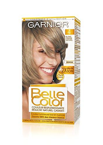 Garnier - Belle Color - Coloration permanente Blond - 04 Blond cendré naturel