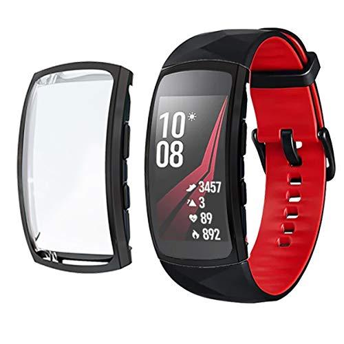 Chofit Custodia Protettiva per Gear Fit 2 PRO, in Morbido Poliuretano termoplastico, Compatibile con Samsung Gear Fit 2 PRO...