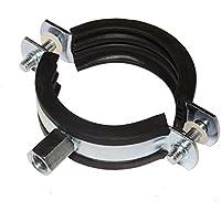 Schraubrohrschelle Rohrschelle Stahl verzinkt (140-144 mm)