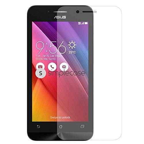 Simplecase Premium Bildschirmschutz Größe: Asus Zenfone Go aus 9H Panzerglas/ Echtglas/ Verb&glas - Transparent