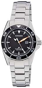 Citizen Eco-Drive Analog Black Dial Women's Watch EP6040-53E