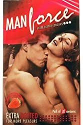 Manforce Dotted Strawberry 10s Condom
